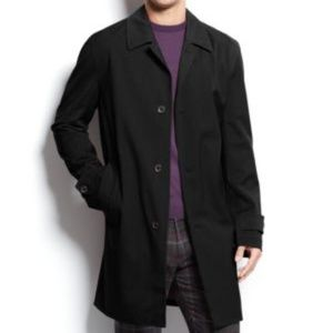 NWT! Michael Kors Franklin Single-Breast Raincoat